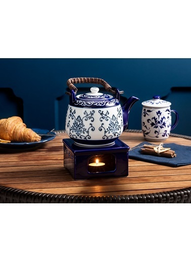 Madame Coco Ravi Kare Çay Isıtıcı Lacivert